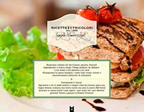 Ricette Tricolori - Webdesign