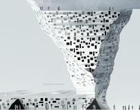 Designing in teharan - multistorey Benetton building 01