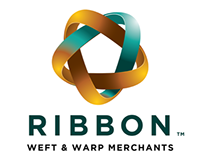 Ribbon Merchants Logos by Theory Unit Graphic Design