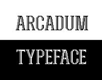 Arcadum Typeface