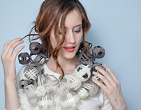 Paper jewelry at 2010 spring