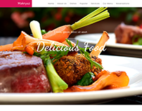 Maknyuz Bootstrap Restaurant Theme