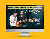 Zezé e Rafael Website