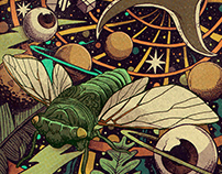 Jade Cicada Gig Poster