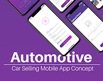 Car Selling App Concept