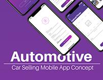 Car Selling App Concept