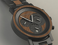 Chronograph for WoodWatch