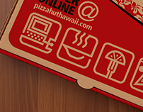 Pizza Hut packaging icons