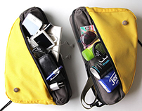 F&S: Bicycle Bag for both Frame and Shoulder