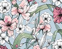 Aquarelle Garden print