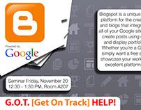 """""""Blogspot"""" Seminar"""