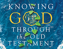 Knowing God Through the Old Testament Book Cover Design