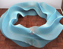 2-wave harmonics twisted bench