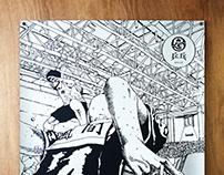 松本大洋《乒乓》絲印海報