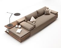 ENNE CODE Sofa - 3D Modeling