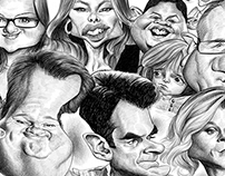 Modern Family caricature
