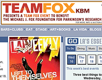 TeamFox KBM Event Ads (Web + Print)