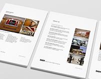 BAM Architecture Studio Branding & Print Work