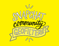 Snapchat Community Geofilter Designs