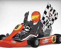 """Kart for """"Patras International Circuit for Kart"""" 2014"""
