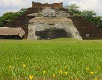 Zona Arqueologica - Comalcalco, Tabasco, México.