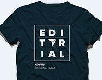 Novus Editorial Team Shirts