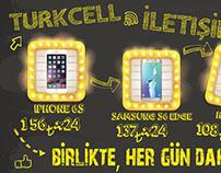 Turkcell Branda Tasarımı