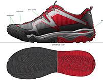 Quechua Junior footwear SS2012 (CROSSROCK)