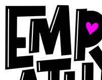 Empathy Lettering
