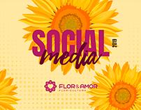 Social Media | Flor e Amor Floricultura