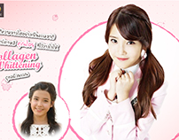 Collagen Whitening Banner