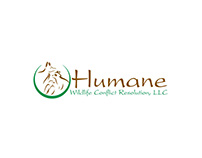 Humane Wildlife Conflict Resolution LLC Logo Design