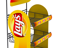 Lays Product Stand