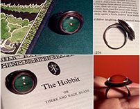 Hobbit: Shire Door Ring