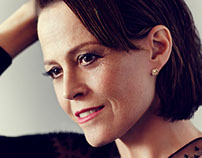 Sigourney Weaver for Gotham cover story by Jason Bell