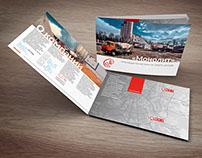 """Буклет для бетонной компании """"Монолит"""""""