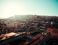 streets of fes, morocco