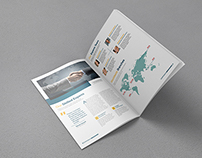 A4 Brochure Mock-up (Free PSD)