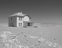 Namibia in black-and-white: Kolmanskop