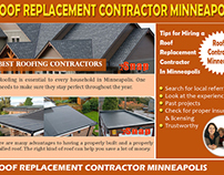 Roofing Contractor Minneapolis
