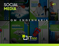 Social Media | GM Engenharia #1