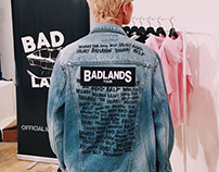 Commissioned LIMITED EDITION Halsey Jean Jacket Design