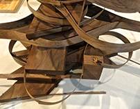 ARCHITECTURE-Hand carving Wood Models 2013