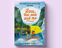 Lena, the sea and me - book cover illustration