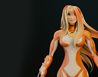 Ariela 3D model Free download