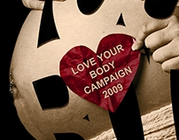 Love Your Body Typography