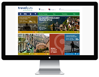 Travel Cuts - Website Redesign