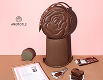 Aristotle Rose Bag 'Maxi' Collection