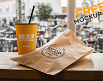 Coffee Cup Branding – Free PSD Mockup