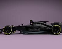 Red Bull 2017 Formula 1 Concept - VECTORIZATION